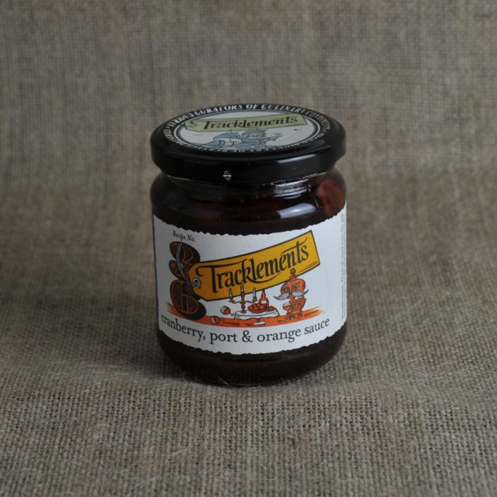 X Tracklements Cranberry, Port & Orange Sauce (250G)